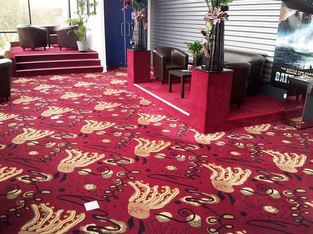tapijt in bioscoop