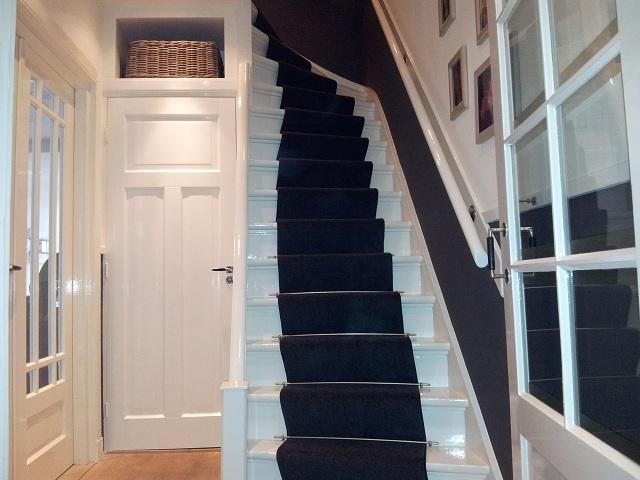 trap loper van tapijt